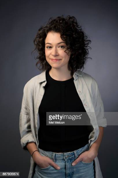 Actress Tatiana Maslany is photographed for Los Angeles Times on November 3 2017 in Los Angeles California PUBLISHED IMAGE CREDIT MUST READ Mel...