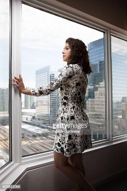 Actress Tatiana Maslany is photographed for MovieMaker Magazine on September 10 2016 in Toronto Canada