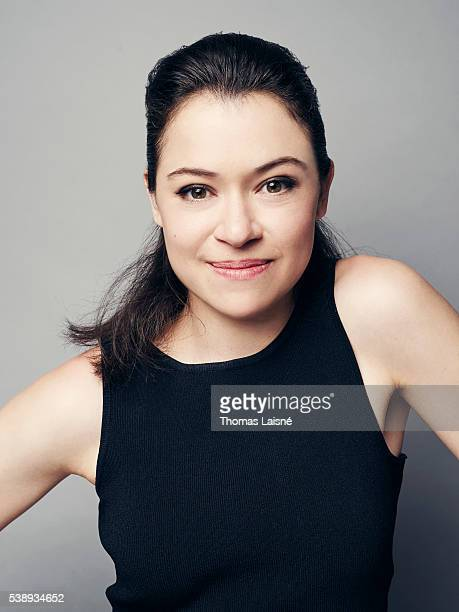 Actress Tatiana Maslany is photographed for Self Assignment on May 17 2016 in Cannes France