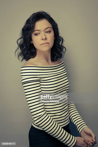 Actress Tatiana Maslany is photographed for The Hollywood Reporter on May 14 2016 in Cannes France