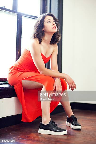 Actress Tatiana Maslany is photographed for The Wrap on June 6 2016 in New York City