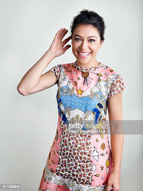 Actress Tatiana Maslany of BBC America's 'Orphan Black' poses for a portrait BBC America BAFTA Los Angeles TV Tea Party 2016 at the The London Hotel...