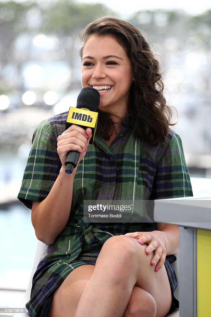 Actress Tatiana Maslany of Orphan Black attends the IMDb Yacht at San Diego Comic-Con 2016: Day Three at The IMDb Yacht on July 23, 2016 in San Diego, California.