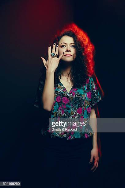 Actress Tatiana Maslany poses for a portrait in the Getty Images SXSW Portrait Studio Powered By Samsung on March 13 2016 in Austin Texas