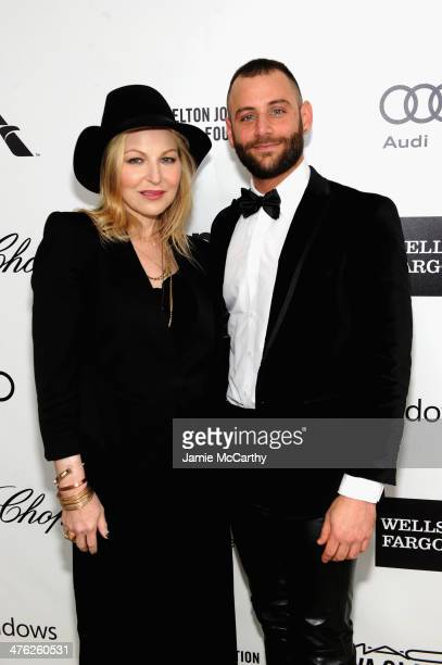 Actress Tatum O'Neal and guest attend the 22nd Annual Elton John AIDS Foundation Academy Awards Viewing Party at The City of West Hollywood Park on...