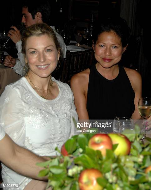 Actress Tatum O'Neal and guest attend the 24th Annual New York City Ballet Dance With The Dancers on June 9 2008 at the New York State Theater...