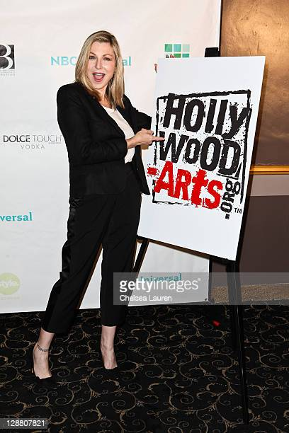 Actress Tatum O'Neal arrives at Hollywood Arts Dream Awards at The Music Box Theatre Hollywood on October 9 2011 in Hollywood California