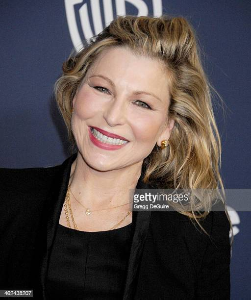 Actress Tatum O'Neal arrives at the 2014 InStyle And Warner Bros 71st Annual Golden Globe Awards postparty at The Beverly Hilton Hotel on January 12...