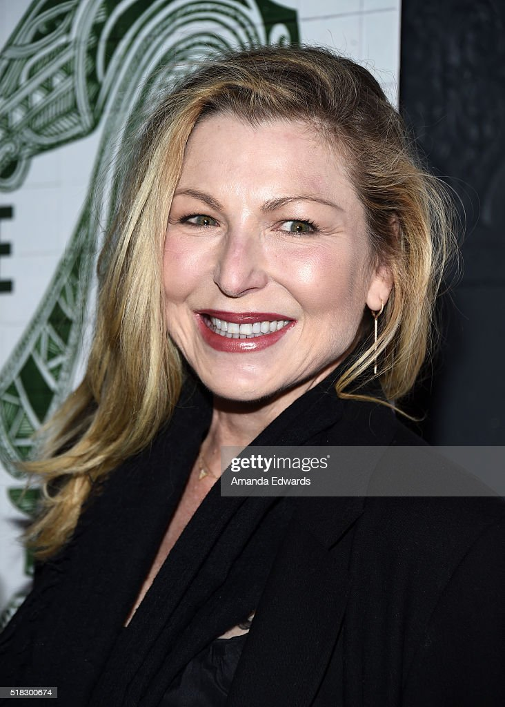 Actress Tatum O'Neal arrives at the premiere of Broad Green Pictures' 'The Dark Horse' at The Theatre at Ace Hotel on March 30, 2016 in Los Angeles, California.