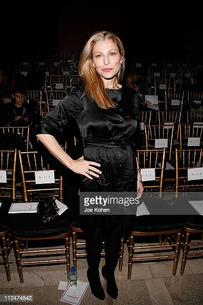 Actress Tatum O'Neal attends Cynthia Rowley Fall 2009 during MercedesBenz Fashion Week at The Jane Hotel on February 16 2009 in New York City