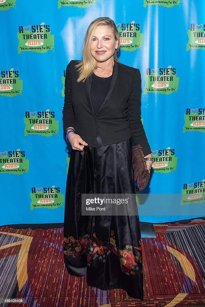 Actress Tatum O'Neal attends Rosie's Theater Kids' 12th Annual Gala Celebration at The New York Marriott Marquis on November 2, 2015 in New York City.
