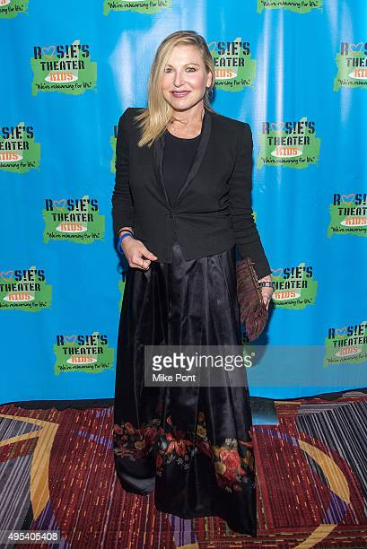 Actress Tatum O'Neal attends Rosie's Theater Kids' 12th Annual Gala Celebration at The New York Marriott Marquis on November 2 2015 in New York City