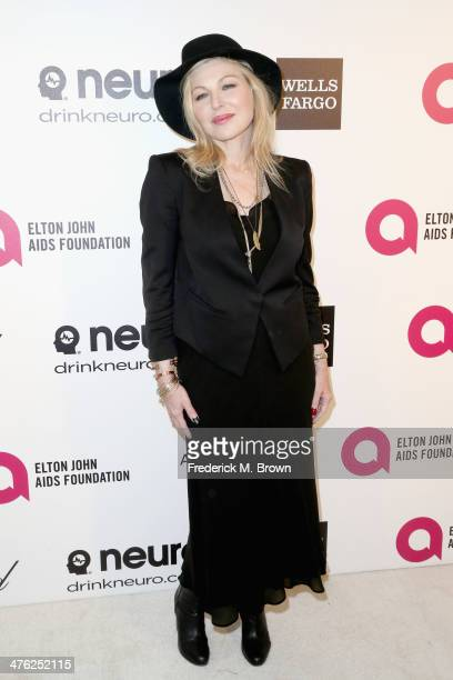 Actress Tatum O'Neal attends the 22nd Annual Elton John AIDS Foundation's Oscar Viewing Party on March 2 2014 in Los Angeles California