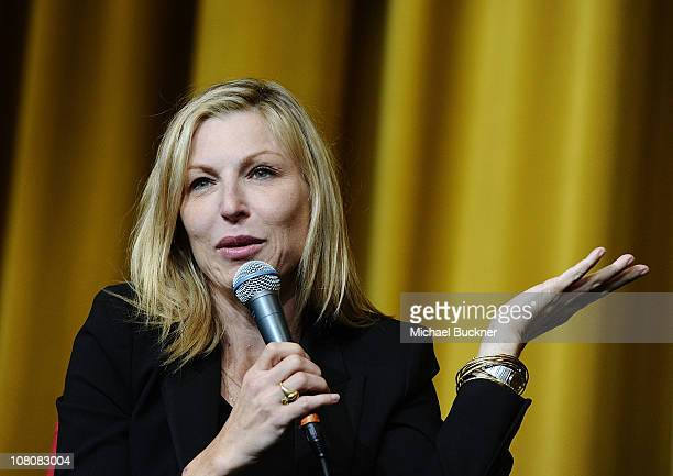 Actress Tatum O'Neal attends the Paper Moon Screening at the Camelot Theatre during the 22nd Annual Palm Springs International Film Festival on...