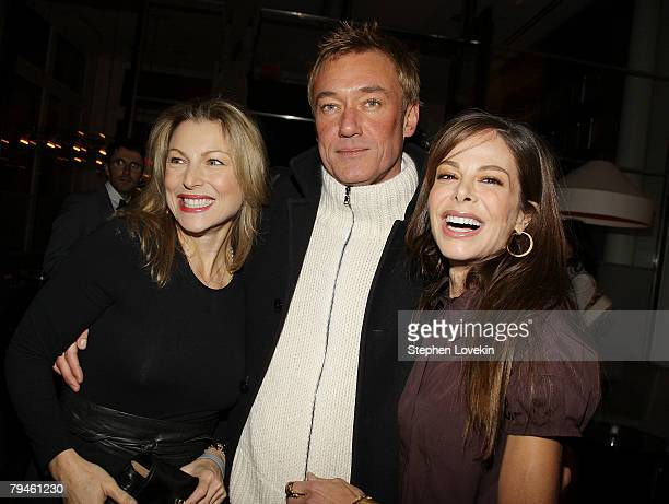 Actress Tatum O'Neil Hunter Hill and Alison Serafim attend the afterparty for Marc Jacobs and Louis Vuitton hosted by The Cinema Society and W...