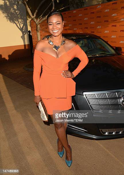 Actress Tatyana Ali arrives at Debra Lee's PreBET Awards Celebration during the 2012 BET Awards at Union Station on June 30 2012 in Los Angeles...