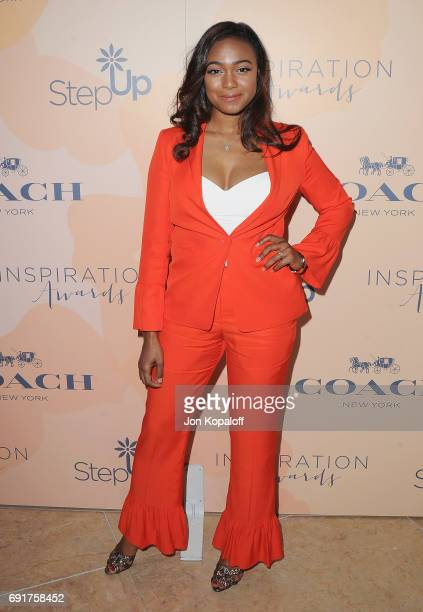Actress Tatyana Ali arrives at the 14th Annual Inspiration Awards at The Beverly Hilton Hotel on June 2 2017 in Beverly Hills California