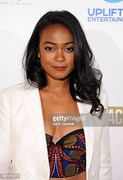 Actress Tatyana Ali attends 2014 ABFF_ UP TV Premiere of Comeback Dad at SVA Theater on June 21 2014 in New York City