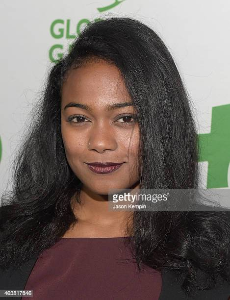 Actress Tatyana Ali attends Global Green USA's 12th annual preOscar party at AVALON Hollywood on February 18 2015 in Hollywood California