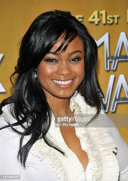 Actress Tatyana Ali attends the 41st NAACP Image Awards Nomination Announcement And Press Conference at SLS Hotel on January 6 2010 in Beverly Hills...