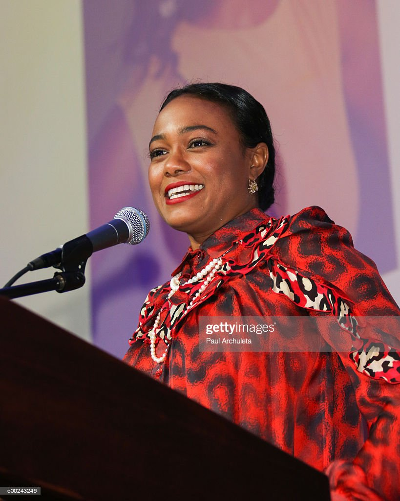 Actress Tatyana Ali attends The Actors Fund's 2015 Looking Ahead Awards at Taglyan Cultural Complex on December 3, 2015 in Hollywood, California.