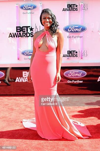 Actress Tatyana Ali attends the BET AWARDS '14 at Nokia Theatre LA LIVE on June 29 2014 in Los Angeles California