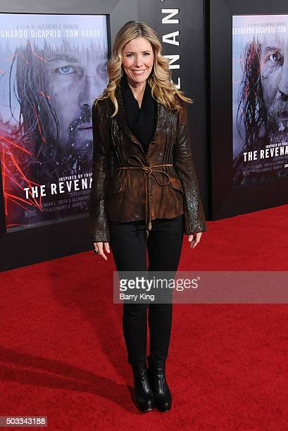 Actress Tava Smiley attends the Premiere of 20th Century Fox And Regency Enterprises' 'The Revenant' at TCL Chinese Theatre on December 16 2015 in...