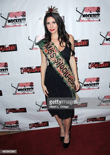 Actress Tawny Amber Young attends the ShockFest Film Festival Awards held at Raleigh Studios on January 11 2014 in Los Angeles California