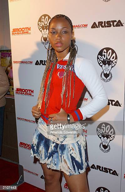 Actress Tawny Dahl arrives at the Smooth PreBET party at Club AD on June 23 2003 in Los Angeles California