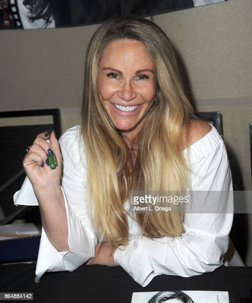 Actress Tawny Kitaen at The Hollywood Show held at Westin LAX Hotel on October 21 2017 in Los Angeles California