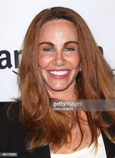 Actress Tawny Kitaen attends a screening of Amazon's 1st original drama series Bosch at The Dome at Arclight Hollywood on February 3 2015 in...