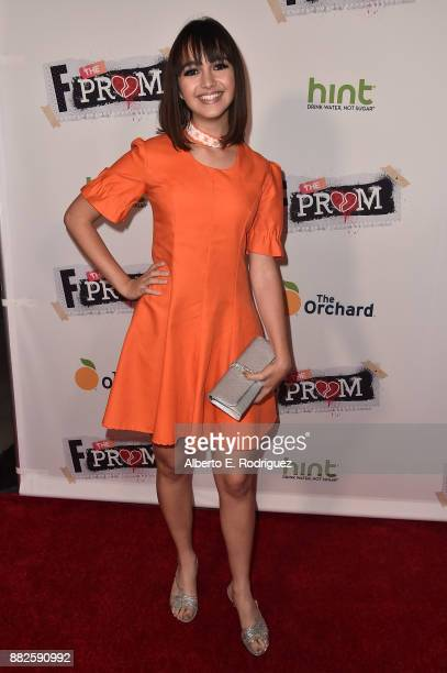 Actress Taylor Blackwell attends the premiere Of Orchard And Fine Brothers Entertainment's 'F*% The Prom' at ArcLight Hollywood on November 29 2017...