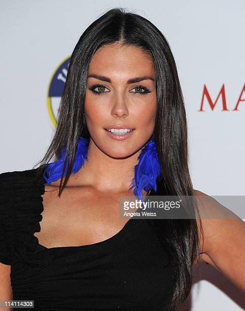 Actress Taylor Cole arrives at Maxim's Hot 100 Party at Eden on May 11 2011 in Hollywood California