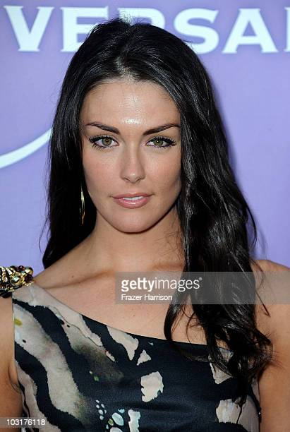 Actress Taylor Cole arrives at NBC Universal's 2010 TCA Summer Party at the Beverly Hilton Hotel on July 30 2010 in Beverly Hills California