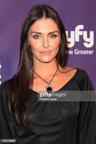 Actress Taylor Cole arrives at the 2010 ComicCon Celebration Hosted By Entertainment Weekly and Syfy at Hotel Solamar on July 24 2010 in San Diego...