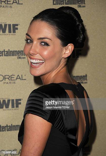 Actress Taylor Cole arrives at the 2010 Entertainment Weekly and Women In Film PreEmmy party sponsored by L'Oreal Paris at Restaurant at The Sunset...
