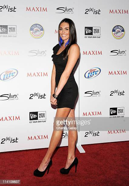Actress Taylor Cole arrives at the 2011 Maxim Hot 100 Party with New Era Miller Lite 2ist and Silver Jeans Co held at Eden on May 11 2011 in...