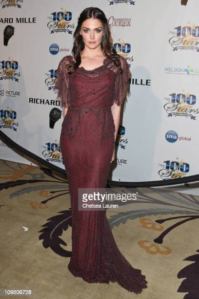 Actress Taylor Cole arrives at the 21st Annual Night of 100 Stars Awards Gala at Beverly Hills Hotel on February 27 2011 in Beverly Hills California
