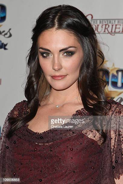 Actress Taylor Cole arrives at the 21st Annual Night of 100 Stars Awards Gala at Beverly Hills Hotel on February 27, 2011 in Beverly Hills,...