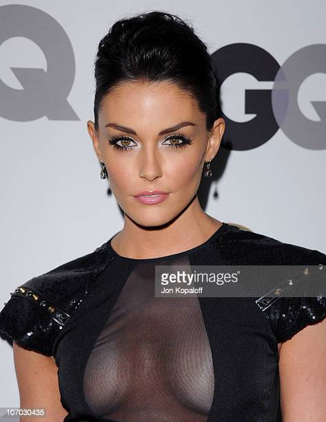 Actress Taylor Cole arrives at the GQ Men Of The Year Party at Chateau Marmont on November 17 2010 in Los Angeles California