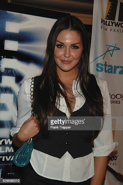 Actress Taylor Cole arrives at the premiere of Flicka at the Hollywood Film Festival held at the Archlight Theater