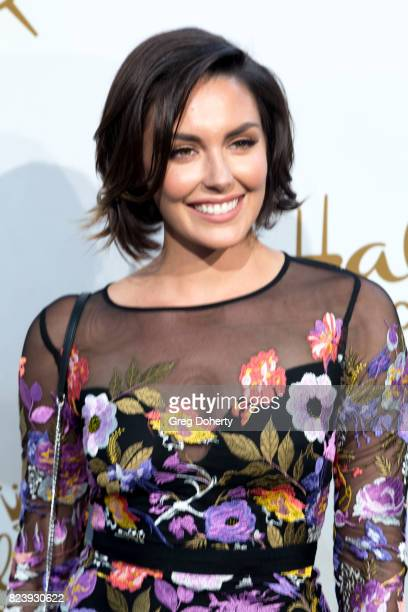 Actress Taylor Cole arrives for the 2017 Summer TCA Tour Hallmark Channel And Hallmark Movies And Mysteries on July 27 2017 in Beverly Hills...