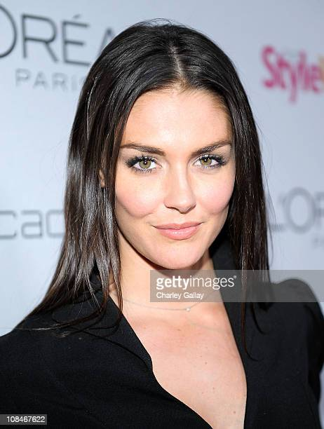 Actress Taylor Cole arrives to 'A Night Of Red Carpet Style' hosted by People StyleWatch at Decades on January 27 2011 in Los Angeles California
