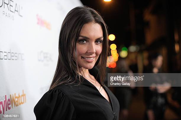 Actress Taylor Cole arrives to 'A Night Of Red Carpet Style' hosted by People StyleWatch at Decades on January 27, 2011 in Los Angeles, California.