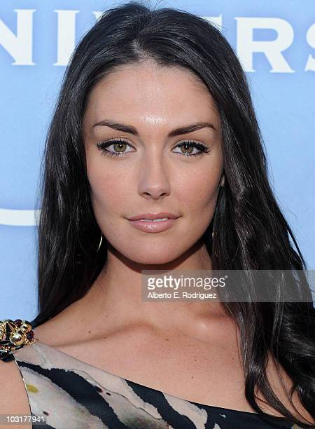 Actress Taylor Cole arrives to NBC Universal's 2010 TCA Summer Party on July 30 2010 in Beverly Hills California