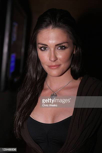 Actress Taylor Cole attends Mark Salling's official record release party at My House on October 22 2010 in Hollywood California