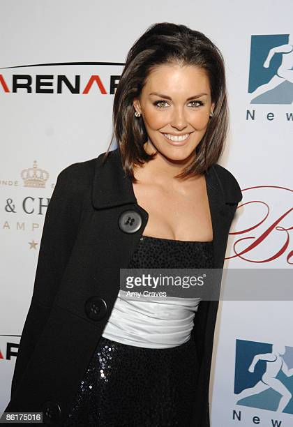 Actress Taylor Cole attends New Year's Eve At Beso Hosted by Eva Longoria on December 31 2008 in Hollywood CA