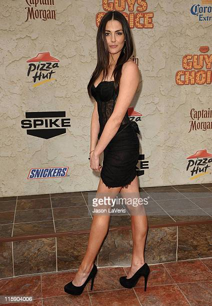Actress Taylor Cole attends Spike TV's 5th annual Guys Choice Awards at Sony Pictures Studios on June 4 2011 in Culver City California