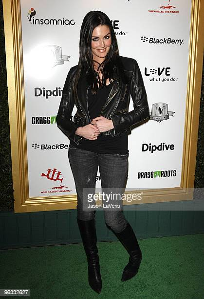 Actress Taylor Cole attends the 1st annual Data Awards at Hollywood Palladium on January 28 2010 in Hollywood California