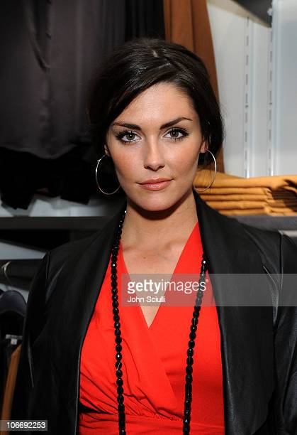 Actress Taylor Cole attends the Grand Opening of Kenneth Cole Boutique at Santa Monica Place on November 10 2010 in Santa Monica California